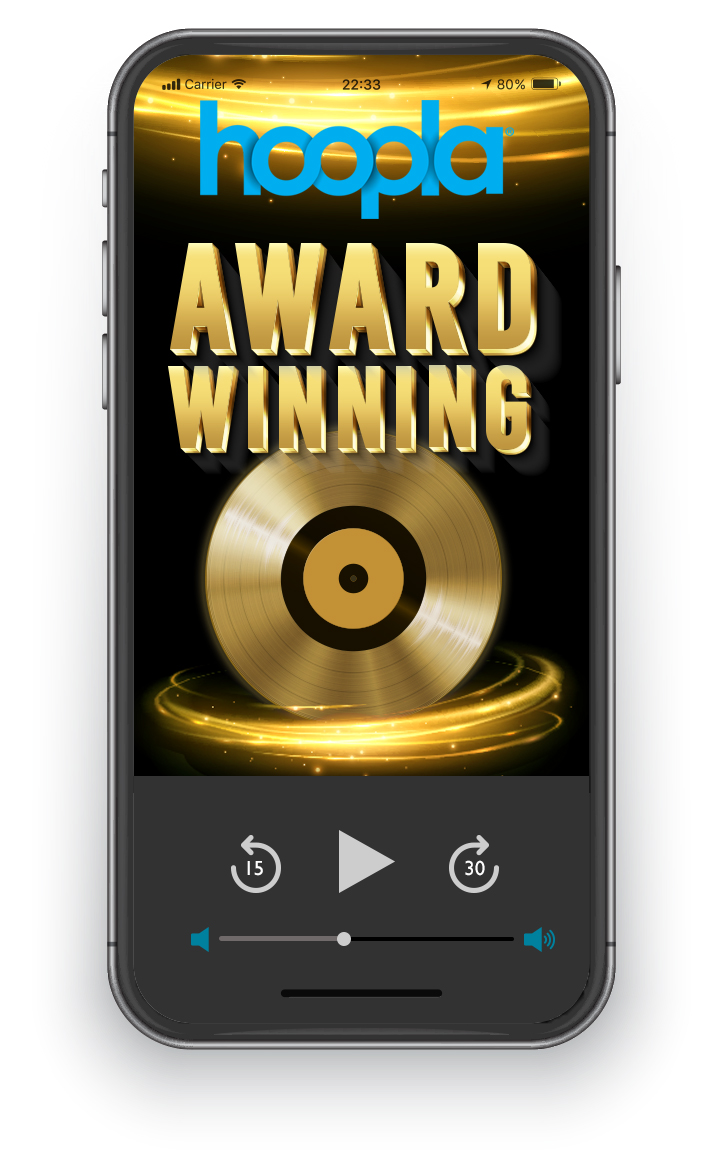 Exlpore award winning music on hoopla