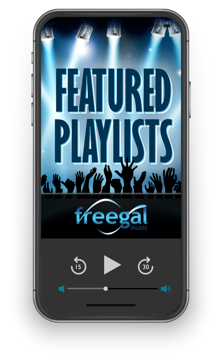 View a collection of featured music playlists on Freegal.